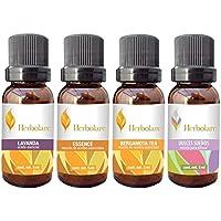 Paquete Esencial Herbolare 4 aceites 5 ml. Mezclas de aceites esenciales 100% puros.