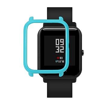 Xiaomi Huami Amazfit Bip Smartwatch Protector Case Funda SIKAI Moda Slim Colorido Marco Caso Cubierta Proteger Shell para Younth Reloj Carcasa ...