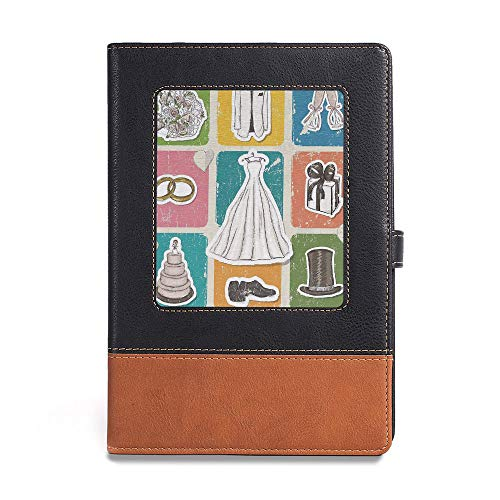 (Environmental-friendly notebook,Wedding Decorations,A5(6.1