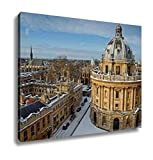 Ashley Canvas, Radcliffe Camera Lincoln And Exeter Colleges, Home Decoration Office, Ready to Hang, 20x25, AG6435025