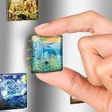 Glass Magnets for Refrigerator - Funny Fridge