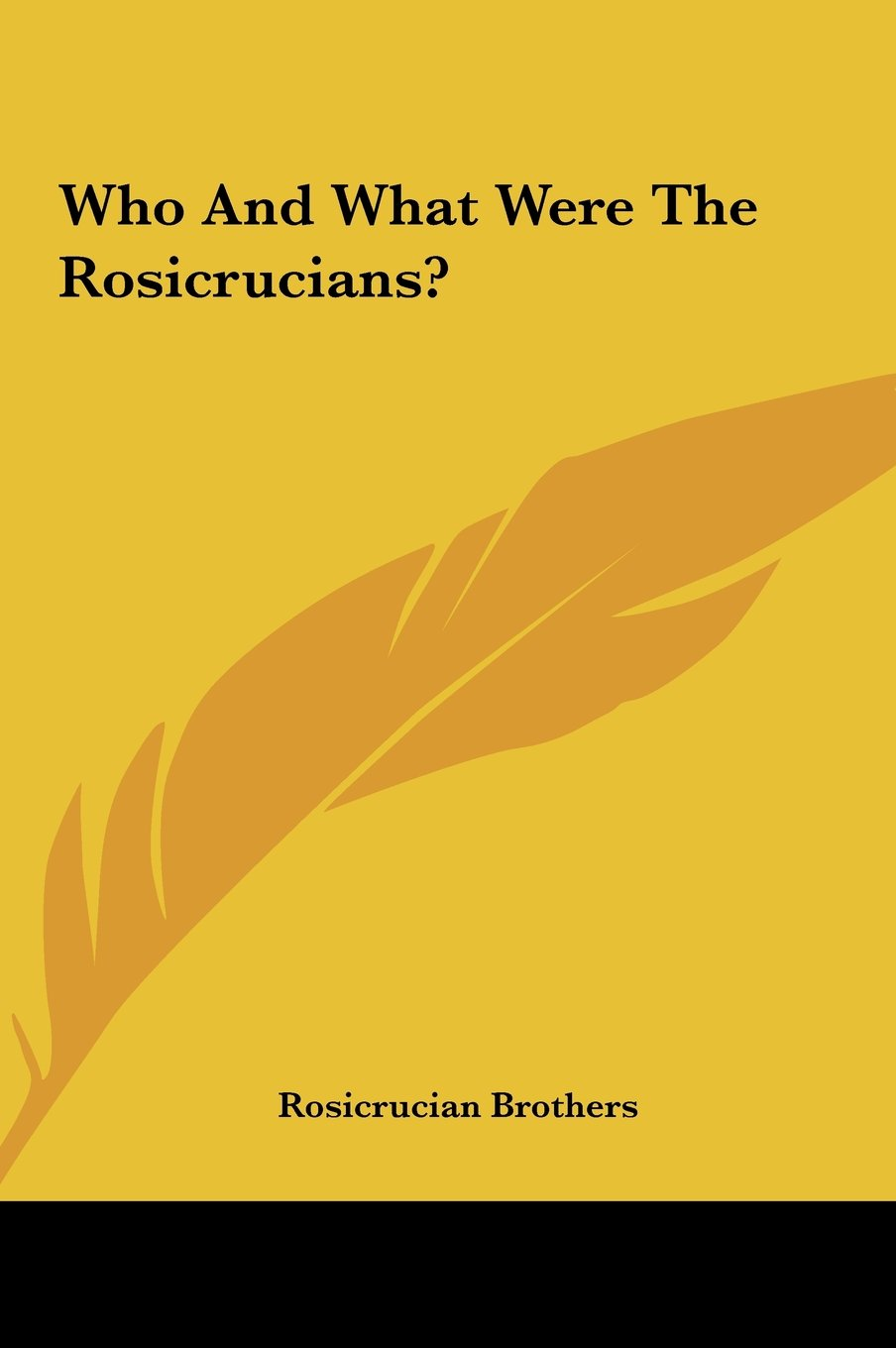 Read Online Who and What Were the Rosicrucians? pdf