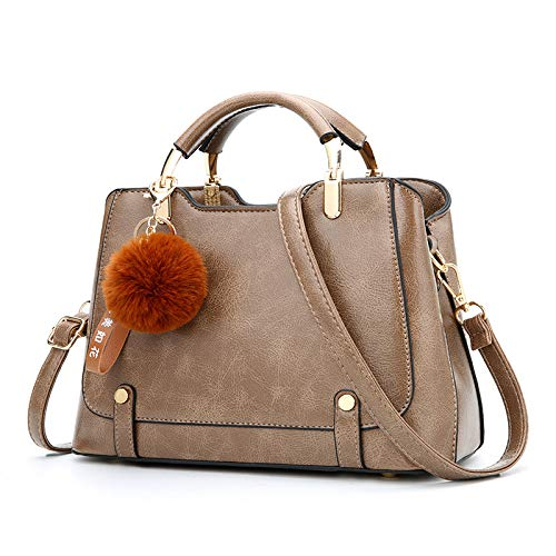 Messenger United Ladies Caqui 2018 Shoulder hlh Europe And Autumn Winter The Bag Big States Fashion Women's Bag caqui TnOxFrTwH