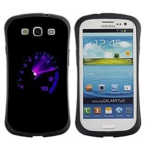 Paccase / Suave TPU GEL Caso Carcasa de Protección Funda para - Car Tach Max Rpm Boost - Samsung Galaxy S3 I9300