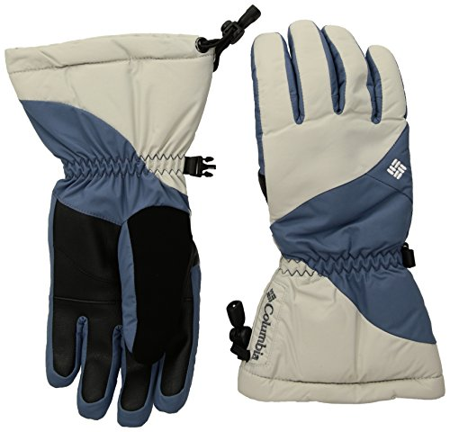 Columbia Women's Tumalo Mountain Gloves, Light Cloud/Mountain, Medium