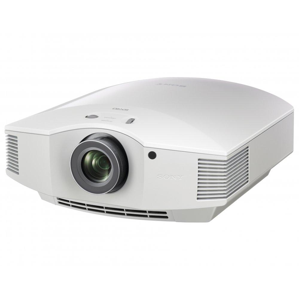 Sony VPL-HW65ES - Proiettore SXRD Full HD per home cinema con luminosità di 1800 lumen e finitura bianca
