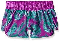 Roxy Big Girls' Primal Palms Boardshort, Purple Wine, 16