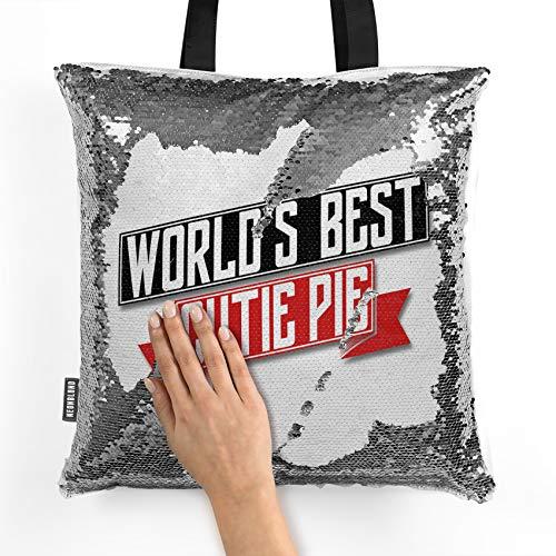 NEONBLOND Mermaid Tote Handbag Worlds Best Cutie Pie Reversible Sequin