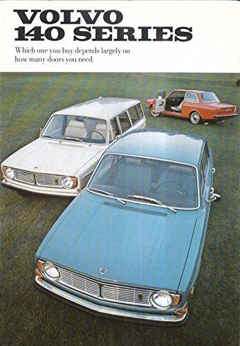 - 1969 Volvo 140 Series: 142 144 145 sales brochure