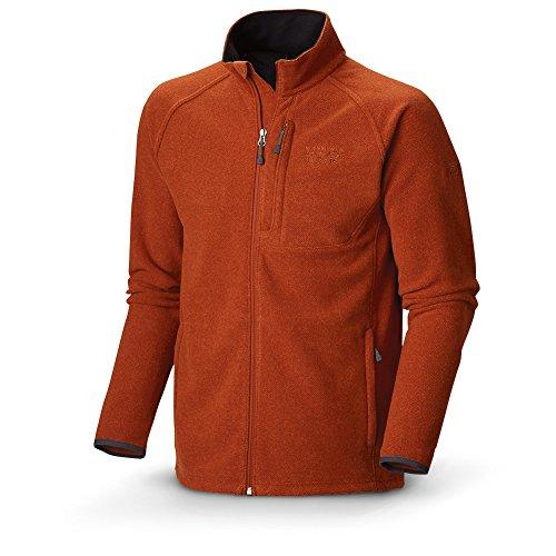 Mountain Hardwear Men's Toasty Tweed Fleece Jacket, Black, Large
