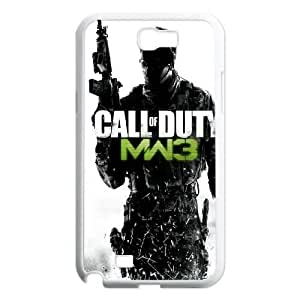 Call of Duty Samsung Galaxy N2 7100 Cell Phone Case White K8614566