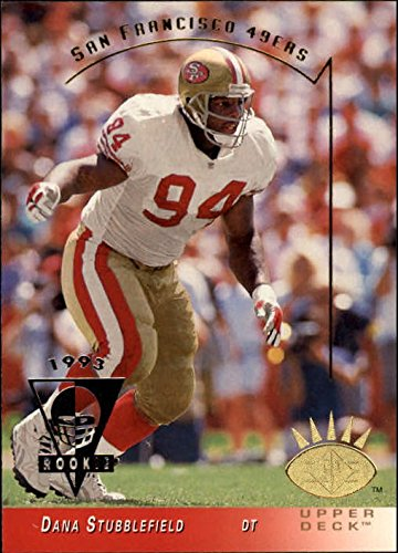 1993 SP #241 Dana Stubblefield RC