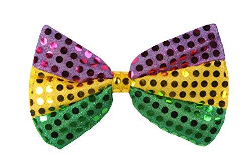 (Beistle 60703-GGP Glitz 'N Gleam Bow Tie, 4-1/4-Inch by 7-Inch )