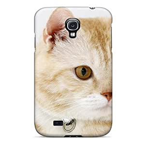 Unique Design Galaxy S4 Durable Tpu Case Cover Beautiful Cat For My Friend Deejai by lolosakes