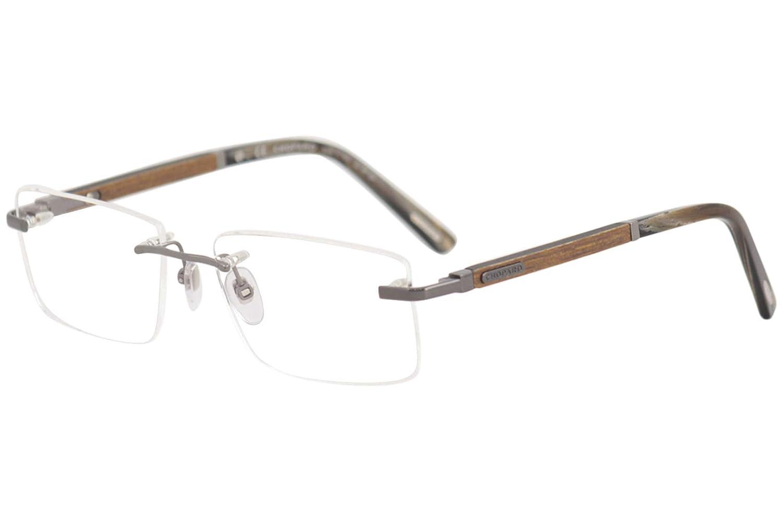0c3b52a180 Eyeglasses Chopard VCHB73 Gunmetal Wood 568L Gunme at Amazon Men s Clothing  store