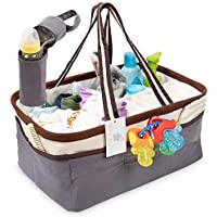 Baby Amore Large Baby Diaper Caddy Organizer