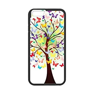 Colorful Butterfly Trees Case for iphone 4 4s