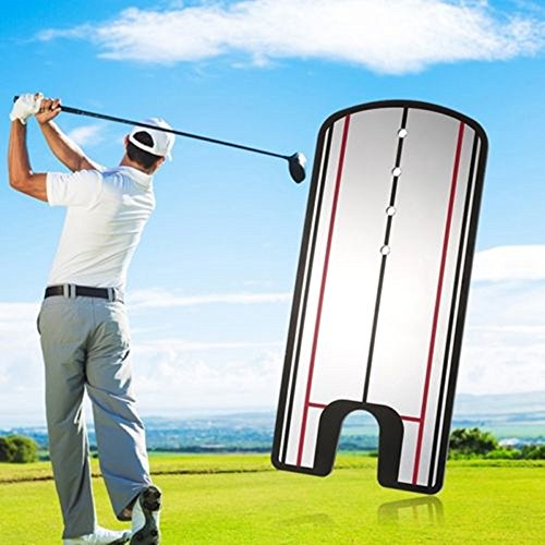 TOPSHION Golf Putting Mirror Training Eyeline Alignment Swing Practice Trainer Aid Tool by Topshion (Image #1)