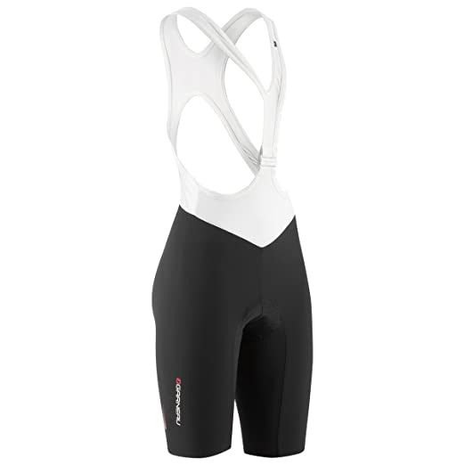 Louis Garneau Course Race 2 Bib Shorts - Women's Black/White, S