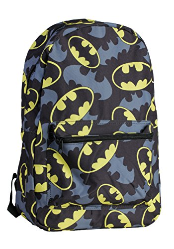 Mens Batman Bat Symbol Backpack Standard