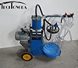 Goat Piston Milking Machine with Transparent Bucket Milker 110V