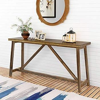 Amazon Com Simpli Home 3axcsaw 03 Sawhorse Solid Wood 50