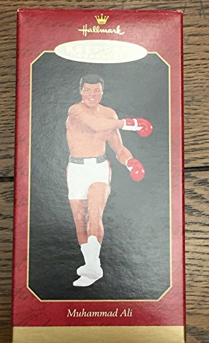 Hallmark Keepsake 1999 Christmas Ornament Retired Muhammad Ali Cassius Clay New In Box