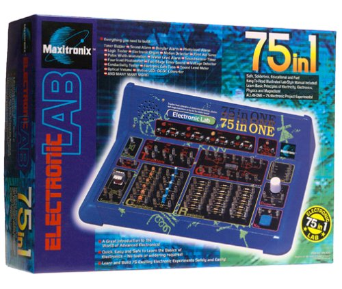 Maxitronix 75-in-One Electronic Project Lab by Elenco (Image #2)