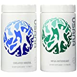 USANA Essentials,Pack of Mega Antioxidant & Chelated Mineral, 112 tablets each