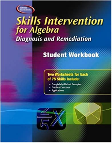 Skills Intervention for Algebra: Diagnosis and Remediation ...