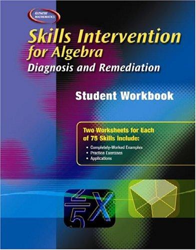 Skills Intervention for Algebra: Diagnosis and Remediation, Student Workbook (MERRILL ALGEBRA 1)
