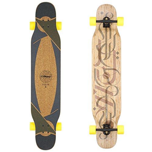 Loaded Boards Tarab Bamboo Longboard Skateboard Complete (86a Stimulus, Flex 1)