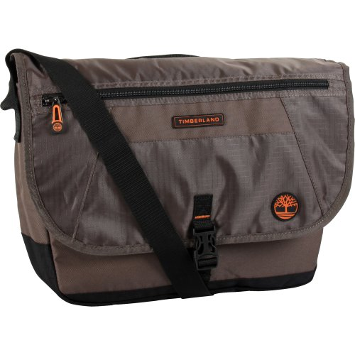 (Timberland Messenger Backpack Briefcase Travel Bag, Cocoa)