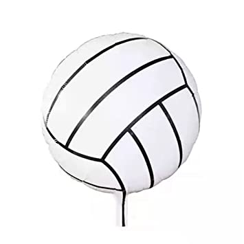 Amazon Com Party Balloons Decoration 18 Inch Volleyball Foil