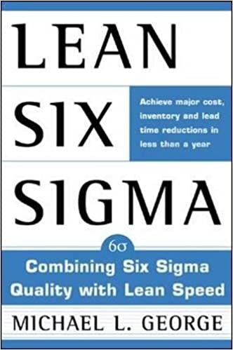 amazon com lean six sigma combining six sigma quality with lean