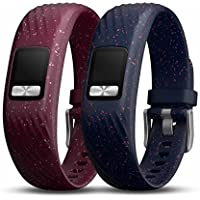 Garmin vivofit 4 accessory bands, Merlot & Navy Speckle, Small/Medium (010-12640-00)