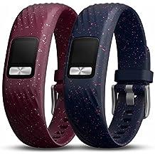 Garmin vivofit 4 accessory bands, Merlot & Navy Speckle, Small/Medium (010-12640-00)