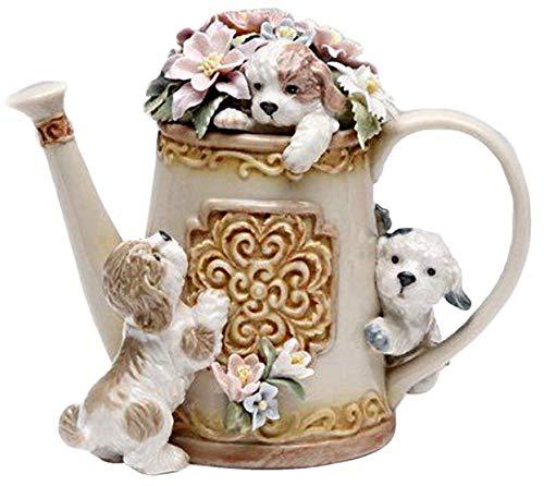 Cosmos 80100 Fine Porcelain Hide 'n Seek Dog Trio Musical Figurine, 5-Inch]()