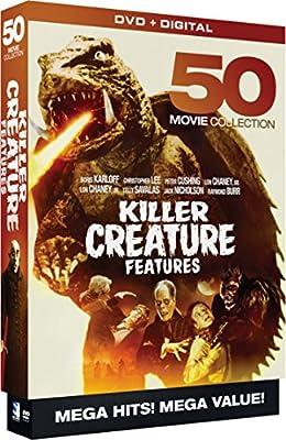 Killer Creature Features - 50 Movie MegaPack - DVD+Digital