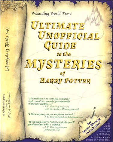 Ultimate Unofficial Guide to the Mysteries of Harry Potter pdf
