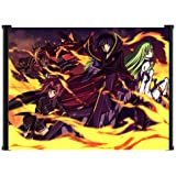 "Code Geass Anime Fabric Wall Scroll Poster (22""x16"") Inches"