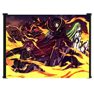 """Code Geass Anime Fabric Wall Scroll Poster (22""""x16"""") Inches"""