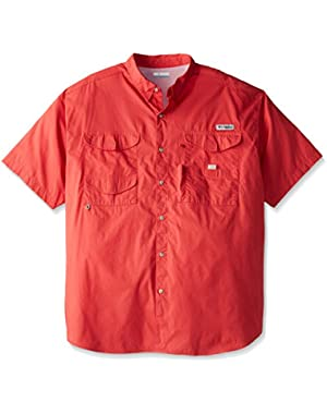 Men's Bonehead Short Sleeve Shirt, Sunset Red, XX-Large