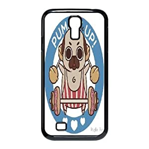 Cute pug Samsung Galaxy S4 I9500 Case Cover, Personalized Samsung Galaxy S4 I9500 Cover
