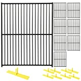 Perimeter Patrol Heavy DutyPortable Security Fence Panel Kit (5'W x 6'H)