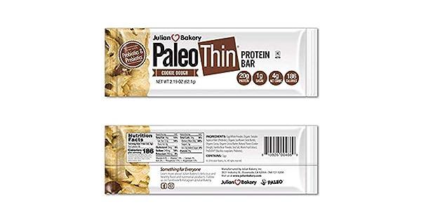 Amazon.com: Paleo - Barra de proteínas fina de 0.71 oz ...
