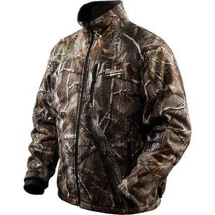 milwaukee 2333-m m12 12-volt realtree ap heated jacket, medium ...