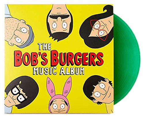 "Bob's Burgers Music Album 3XLP + 7"" Various Artists Exclusive Condiment Color Vinyl"