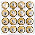 Sterling Gaming Deluxe Wooden Tally Ball Set