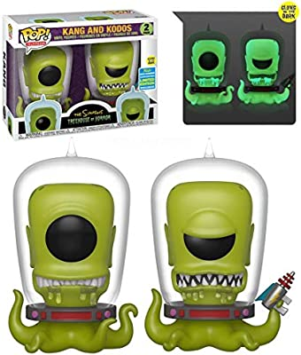 The Simpsons Treehouse of Horror-Kang et Kodos SDCC 2019 Funko POP!